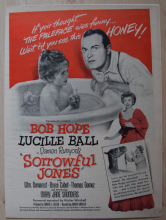 Sorrowful Jones (1949) - Bob Hope - Vintage Trade Ad